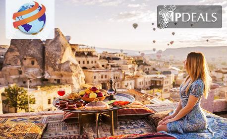 През Юни до Кападокия, Анкара, Истанбул и Соленото езеро! 4 нощувки със закуски и 2 вечери, плюс транспорт