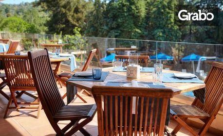 През Юни на Тасос! 2 нощувки със закуски и вечери в хотел ZOE 4*, транспорт и посещение на Кавала, Александруполис и Порто Лагос