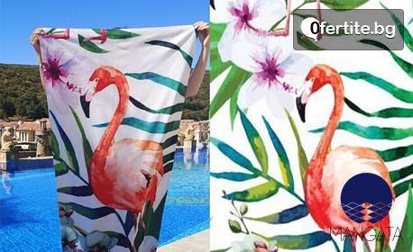 Хавлиена кърпа с щампа и размер по избор