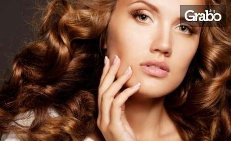 Подстигване, терапия за коса Bioplex или празнична прическа