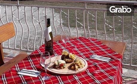 Пролетна почивка в Сърница - на брега на язовир Доспат! Нощувка със закуска за двама