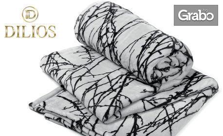 Подари топлина за Коледа! Одеяло Forest в цвят по избор