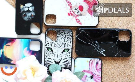 Glossy калъф за смартфон - с готов дизайн или снимка на клиента