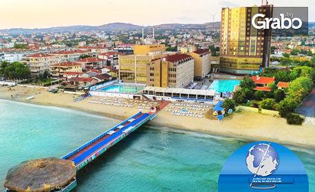 Луксозна почивка на брега на Мраморно море! 3 нощувки със закуски в хотел 5* в Кумбургаз, с възможност за Истанбул, от Запрянов Травел