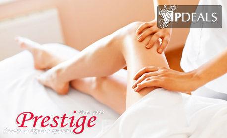Антицелулитен лимфодренажен масаж с вакуум на проблемни зони