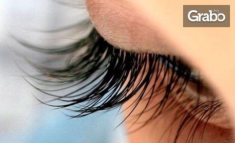 Поставяне на мигли - косъм по косъм, 3D или 6D