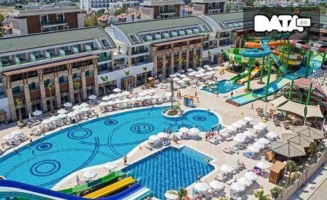 Ранни записвания за почивка край Анталия! 7 нощувки на база Ultra All Inclusive в Хотел Crystal Waterworld*****