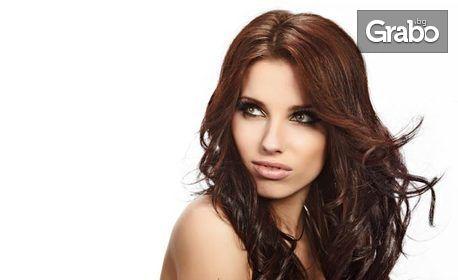 Терапия за коса против мазен и сух скалп