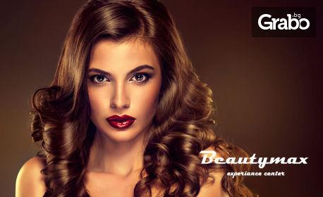 Красива коса с Code Zero! Боядисване или възстановяваща терапия Ecovexx, плюс прическа