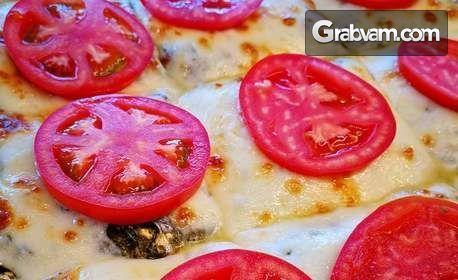 Вкусен обяд! Основно ястие с гарнитура и прясно изпечено хлебче, плюс супа или десерт