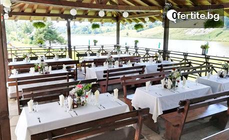През Юни и Юли в Еленския Балкан - на брега на язовир Палици! 2 или 3 нощувки със закуски и вечери, с бонус - възможност за риболов