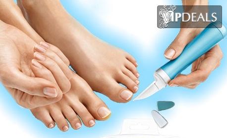 Автоматична пила за оформяне и полиране на нокти Nail Care System - с 3 накрайника