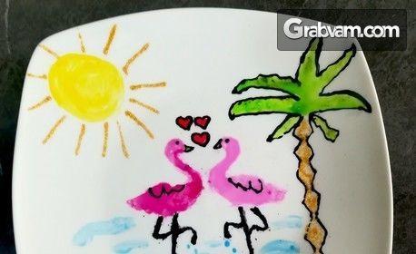 Творчество за деца на 6 - 14г! Месечна карта с 4 посещения на арт занимания с насоченост към приложните изкуства
