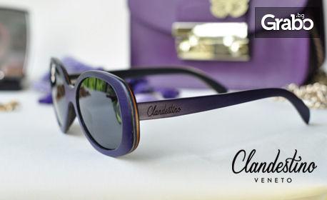 Дървени ръчно изработени слънчеви очила със 100% UV защита, плюс безплатна доставка