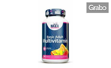 Мултивитамини за възрастни - 200 таблетки
