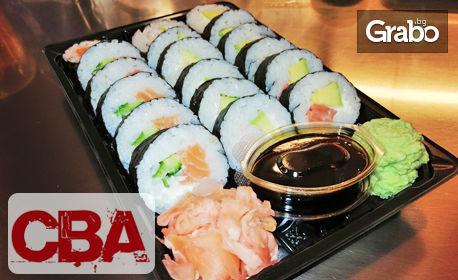 Суши сет Комбо Футомаки с 18 хапки