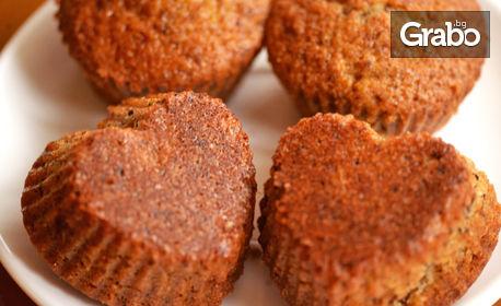 Вкусно сладко хапване за вкъщи! Домашни мъфини или овесени бисквити