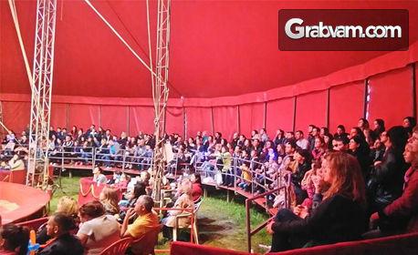 Вход за цирков спектакъл през Юли