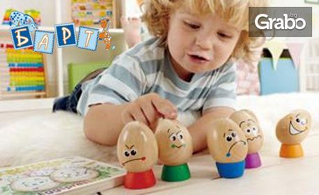 Комплект дървени играчки по избор