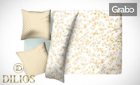 Единичен или двоен спален комплект от 100% памук - в десен по избор