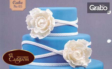 За специален повод! Красива торта с до 3 етажа и декорация по избор