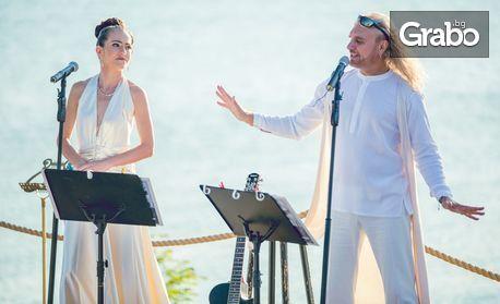 Персонализиран видео поздрав с любовна песен или мелодия на пиано, в изпълнение на Калки и Мартина Табакова