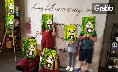 Рисуване под насоките на художник, плюс напитки - за двама възрастни или за дете, или картина по избор