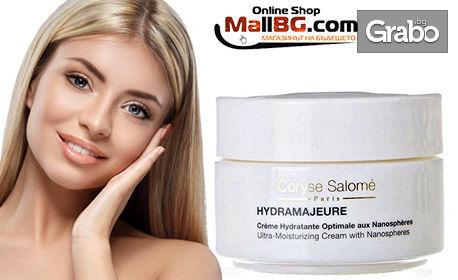 Грижа за лицето - почистващ лосион против стареене или хидратиращ крем Coryse Salome