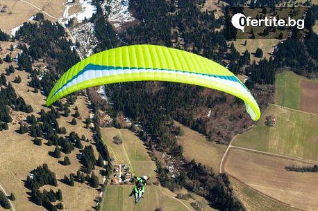 Тандемен полет с парапланер от Сопот, Беклемето, Витоша или Конявска планина, плюс HD видеозаснемане