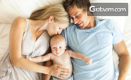 Изследване за бременни - мониторинг на детски сърдечни тонове и консултация с акушер-гинеколог