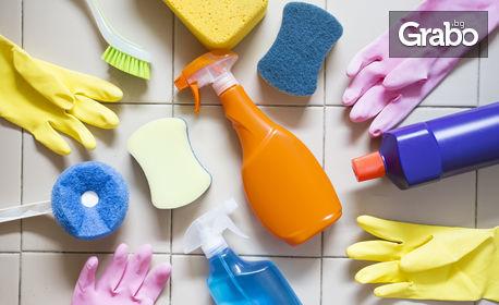 Почистване на апартамент до 70кв.м