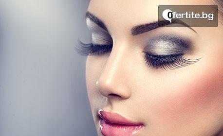 Перманентен грим на вежди или очна линия с техника по избор