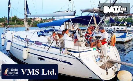 """2 часа разходка с ветроходна яхта """"Елиза"""" във Варненския залив, плюс почерпка"""