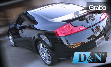 Шок тест за амортисьори на лек автомобил