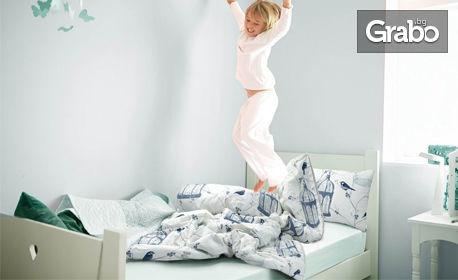 Луксозен бебешки или детски спален комплект, в цвят по избор