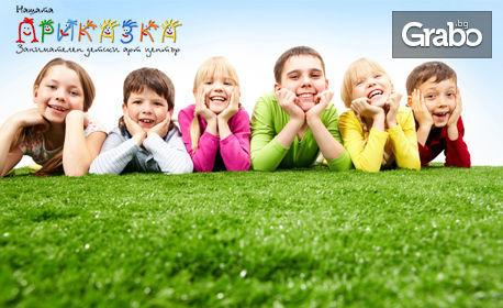 Целодневна занималня за дете от 6 до 14г - 1, 5, 10 или 20 посещения