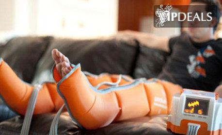Лимфодренажен масаж на двойка зони по избор