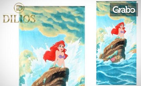 Детска плажна кърпа в десен по избор