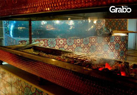 Опитайте турска кухня! Хапнете и пийнете за 19.90лв, вместо за 40лв.