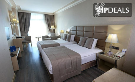 Почивка на Мраморно море - край Истанбул! 2 нощувки със закуски в Еser Premium Hotel & SPA*****