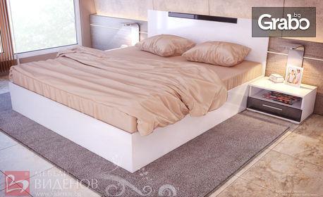 Спалня Катерина в бял гланц - лукс и красота за твоя дом