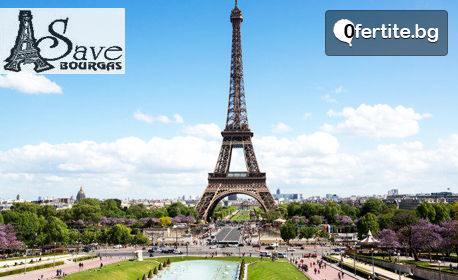 Напролет до Париж, Кале, Лондон, Брюксел и Антверпен! 7 нощувки с 5 закуски, плюс самолетен транспорт