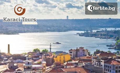 """Посети Истанбул! 2 нощувки със закуски, панорамна обиколка и посещение на желязната църква """"Св. Стефан"""", плюс транпорт"""