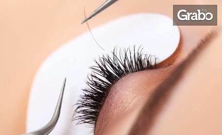 """Поставяне на мигли по метода """"косъм по косъм"""" или 3D"""