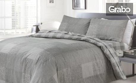 Спален комплект от ранфорс - десен по избор