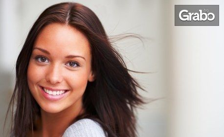Кислороден пилинг на лице, плюс безиглена мезотерапия с хиалуронова киселина и мезококтейл витамини
