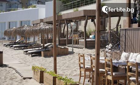 Лято за двама в Созопол! Нощувка със закуска и възможност за вечеря, плюс басейни и паркинг - на 30м от плажа