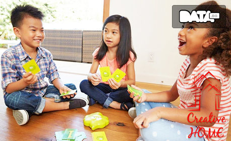 Смях за децата! Игра Gas Out Board Game Mattel DHW40