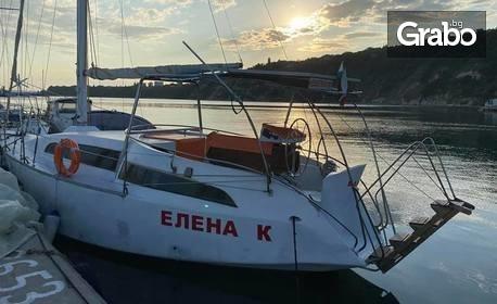Вечерен круиз с яхта във Варненския залив
