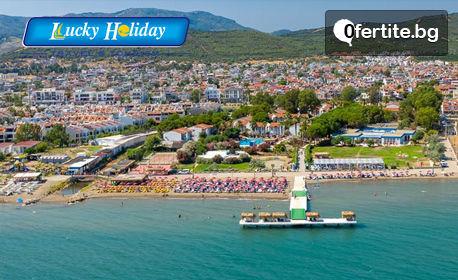 Ранни записвания за почивка в Турция! 7 нощувки на база All Inclusive в Santa Family Club****, Сеферихисар